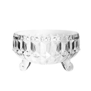 Fifth Avenue Gabriella Clear Crystal Snack Bowl