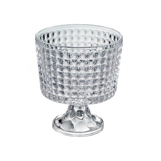 Fifth Avenue Crystal Annabelle Clear Crystal Trifle Pedestal Bowl