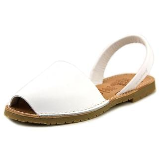 Coolway Women's Seilor White Leather Sandals