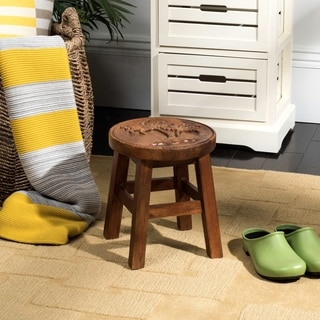 Safavieh Duo Medium Brown Stool