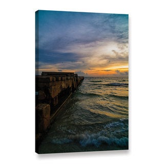 Tom Croce's 'Florida Sunset' Gallery Wrapped Canvas