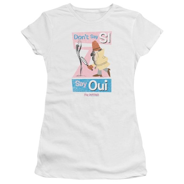 MGM/Pink Panther/Say Oui Junior Sheer in White
