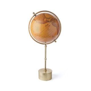Hip Vintage Santa Maria Wood Globe