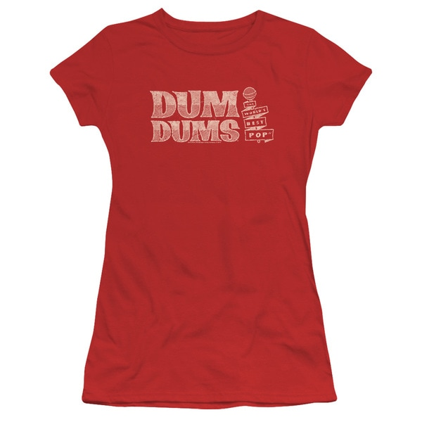 Dum Dums/World's Best Junior Sheer in Red