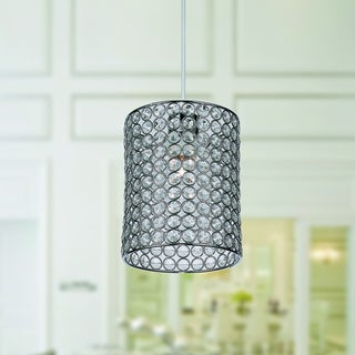 Warehouse of Tiffany Earldena Clear Acrylic 1-light Pendant Lamp