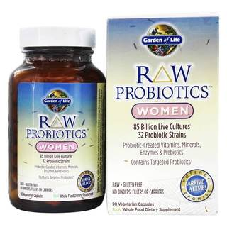 Garden of Life RAW Probiotics (90 Vegetarian Capsules)