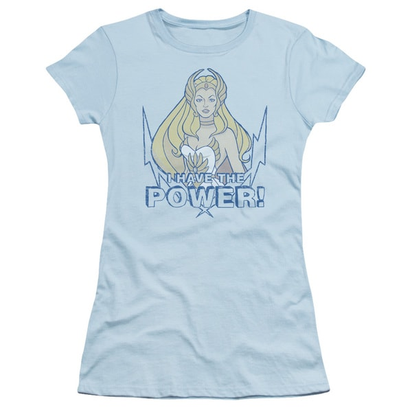 She Ra/Power Junior Sheer in Light Blue