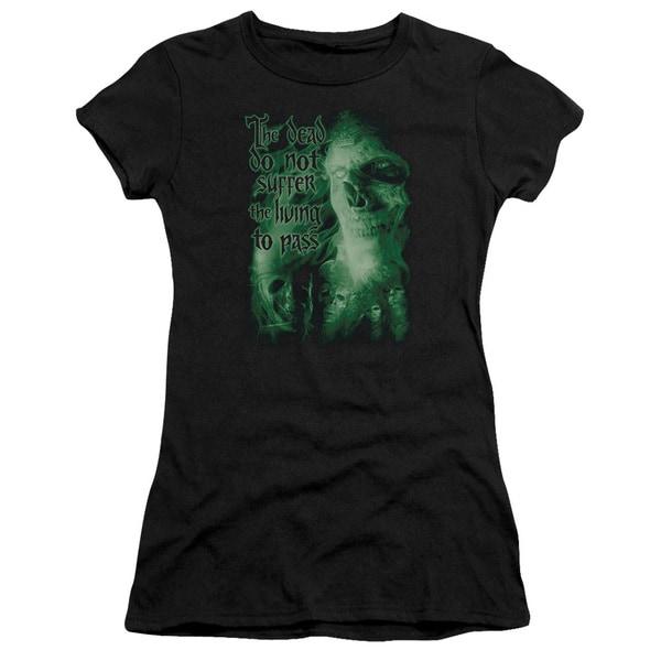 LOTR/King Of The Dead Junior Sheer in Black