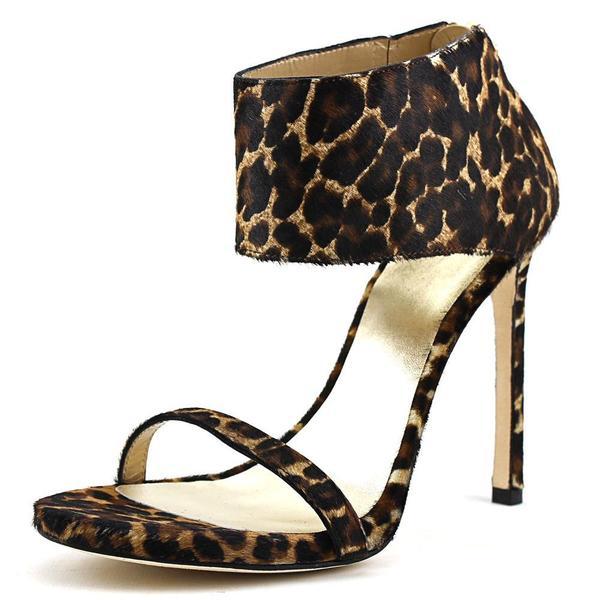 Stuart Weitzman Women's 'Showgirl' Calf Hair Sandals