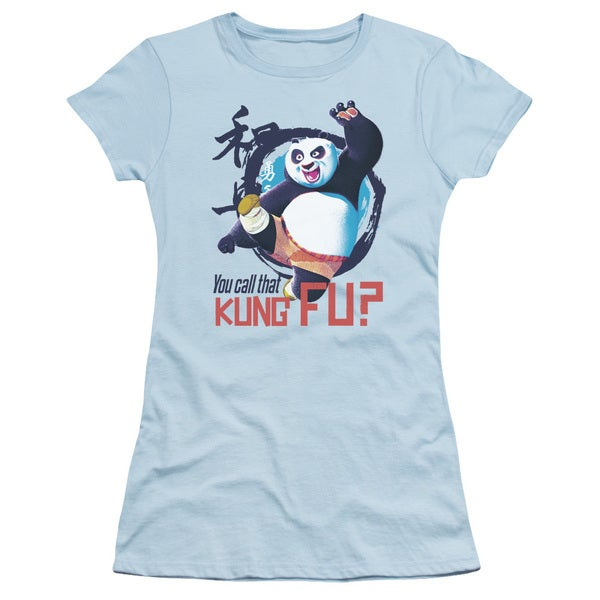 Kung Fu Panda/Kung Fu Junior Sheer in Light Blue