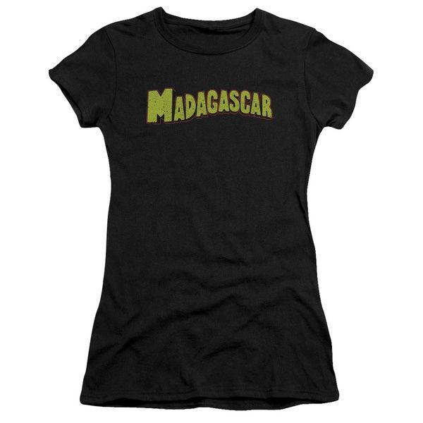 Madagascar/Logo Junior Sheer in Black