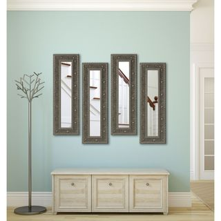 American Made Rayne Opulent Silver Panel Mirrors