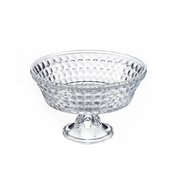 Crystal Clear Annabelle Clear Crystal 11-inch Pedestal Bowl