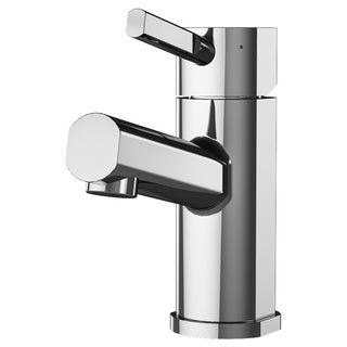 A&E Bath and Shower Prague Silver Stainless Steel Lavatory Faucet