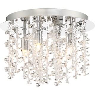Quoizel Platinum Collection Luminous Crystal Flush-mount Pendant