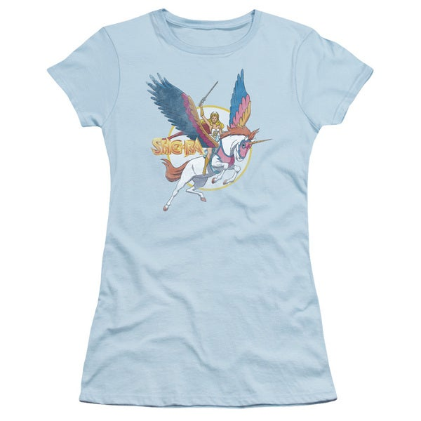 She Ra/ and Swiftwind Junior Sheer in Light Blue