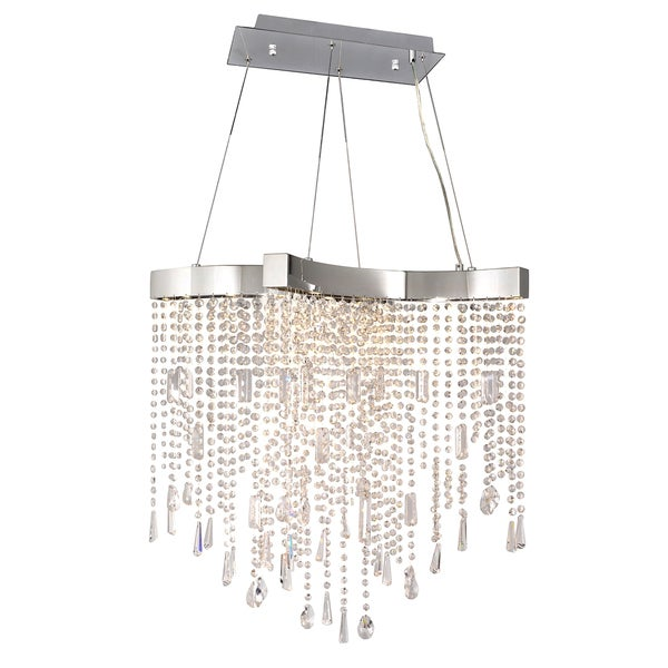 Maximum Lighting Crystal Sensation LED-Single Pendant