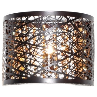 Inca Collection Bronze-finish Steel Wall Sconce