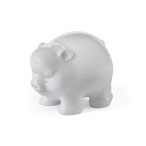 Hip Vintage Piggly Wiggly White Porcelain Jar