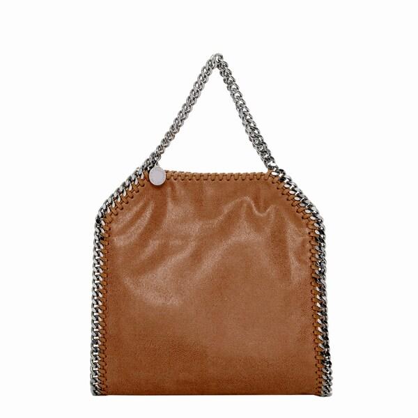 Stella McCartney Mini Baby Bella Caramel Shoulder Bag