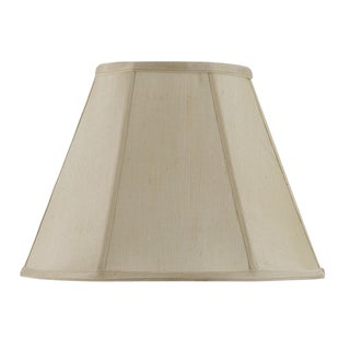 Bombay Vertical Piped Basic Empire Shade - Champagne