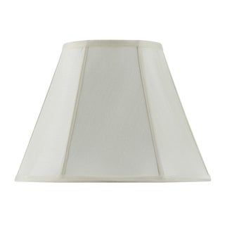 Bombay Vertical Piped Basic Empire Shade - Egg Shell