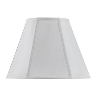 Bombay Vertical Piped Basic Empire Shade - White