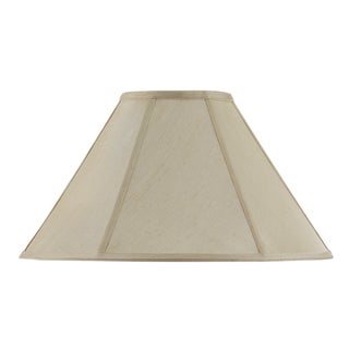 Bombay Vertical Piped Basic Coolie Shade - Champagne