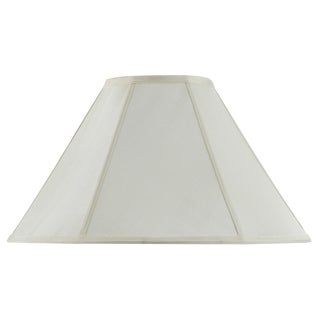 Bombay Vertical Piped Basic Coolie Shade - Egg Shell