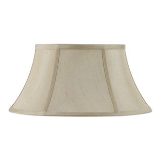 Bombay Vertical Piped Junior Floor Lamp Shade - Champagne