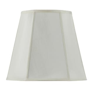 Bombay Vertical Piped Deep Empire Shade - Egg Shell