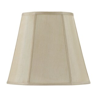 Bombay Vertical Piped Deep Empire Shade - Champagne