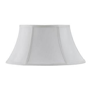 Bombay Vertical Piped Junior Floor Lamp Shade - White
