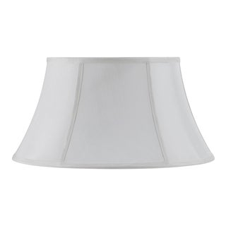 Bombay Vertical Piped Swing Arm Shade - White