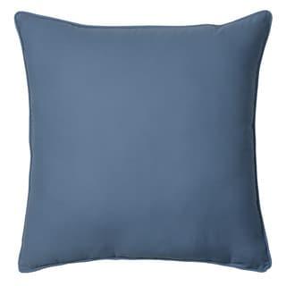 IZOD Chambray Stripe European Square Pillow