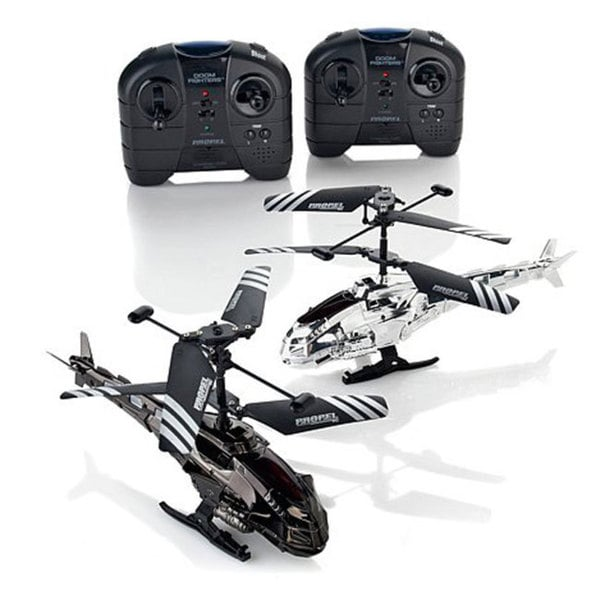 Doom Fighter Helicopters (Set of 2)