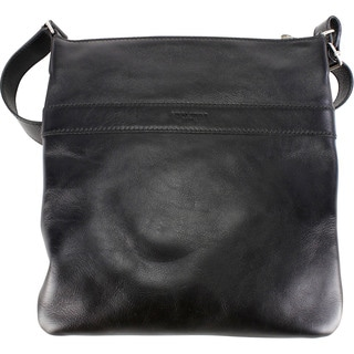 Saint Laurent Black Calf Leather Women's Messenger Bag