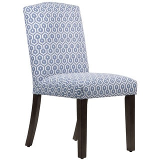Skyline Furniture Espresso Finish Jamboree Island Wood/Fabric Arched Dining Chair