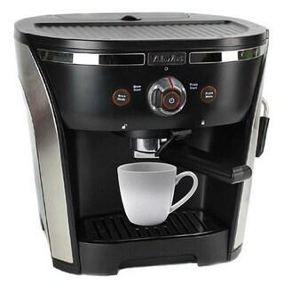 VillaWare Professional Black Stainless Steel 15-bar Pressure Pump Espresso Maker