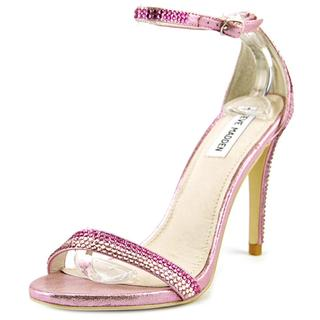 Steve Madden Women's Stecy Pink Synthetic Sandals