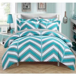 Chic Home Dallas Aqua 3-piece Duvet Cover Set