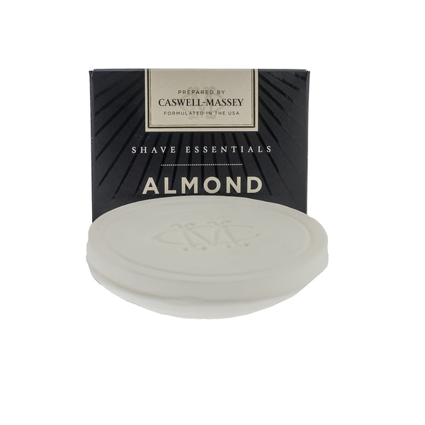 Caswell-Massey Almond 3.3-ounce Shave Soap Refill
