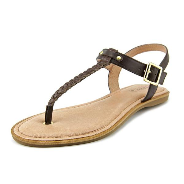 Sperry Top Sider Women's Virginia Brown Leather Sandals