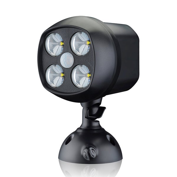 Anear Battery-powered Ultra-bright 500-lumens LED Wireless Weatherproof Indoor/Outdoor Motion Sensor Spotlight