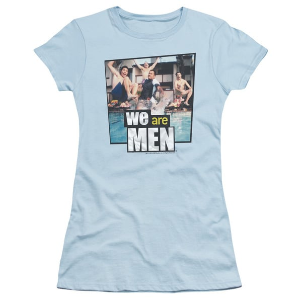 We Are Men/Pool Junior Sheer in Light Blue
