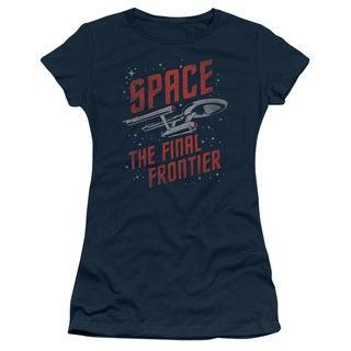 Star Trek/Space Travel Junior Sheer in Navy
