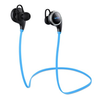 VTIN Swan Sport Bluetooth Wireless Stereo Built-in Mic/aptX Black Headphones for iPhone and Android Phones