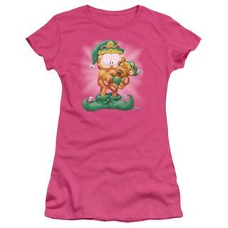 Garfield/Number 1 Elf Junior Sheer in Hot Pink