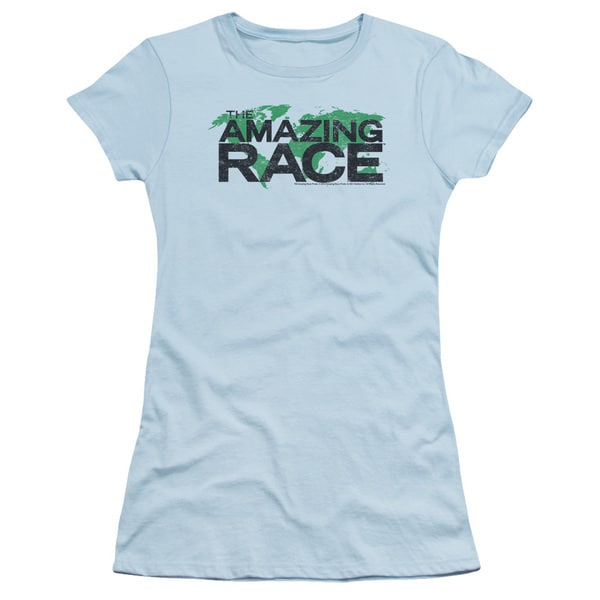 Amazing Race/Race World Junior Sheer in Light Blue