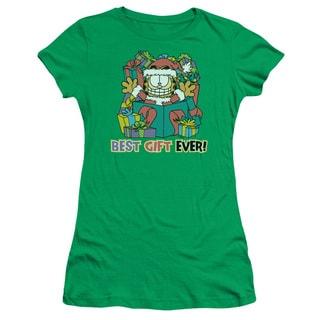Garfield/Best Gift Ever Junior Sheer in Kelly Green